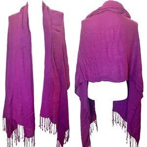 3/$8🎉 Pasymina Purple shawl / scarf / wrap